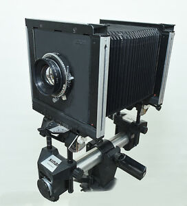 SINAR 4X5  - 'F' MODEL VIEW CAMERA KIT - SWISS MADE