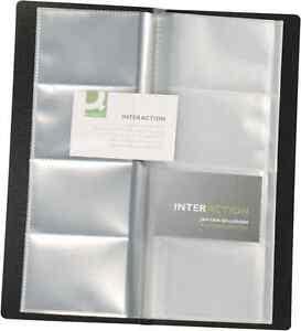Business card folder ebay quality businessname card holder capacity 96 cards folder filing wallet kf03663 colourmoves