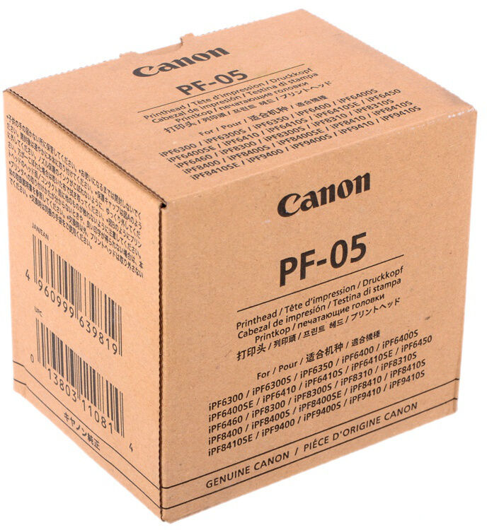 F/S NEW Canon PF-05 Printhead Print Head 3872B001 from JAPAN