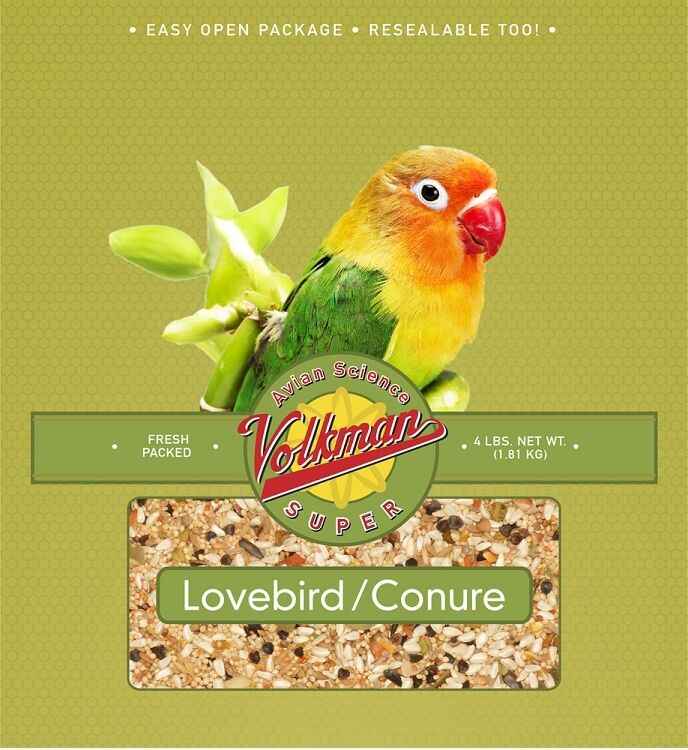 20 Lb Avian Science Super Lovebird Conure Bird Seed By Vo...