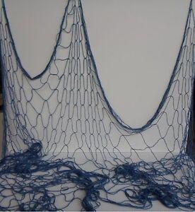 Decorative fishing net 6x8 fish netting luau decor for Fishing net decor