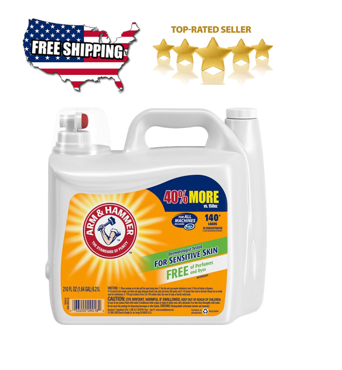 Arm & Hammer 2X Concentrated Liquid Laundry Detergent for Se