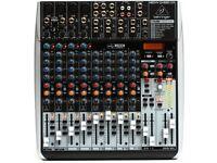 Full Karaoke system for sale. Behringer B212 Eurolive speakers Behringer xenyx 1622fx mixer