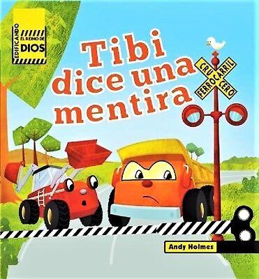 TIBI DICE UNA MENTIRA Childrens Board Book BRAND NEW Ebay BEST