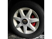 5x100 Alloy Wheels Seat Leon Toledo Ibiza mk4 golf Audi etc