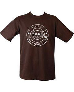 Taliban-Hunting-Club-T-shirt-Black-Militaria-Army-100-Cotton-Tshirt