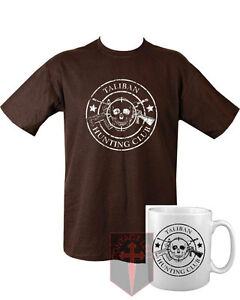 Taliban-Hunting-Club-T-shirt-Black-and-Mug-High-quality-military