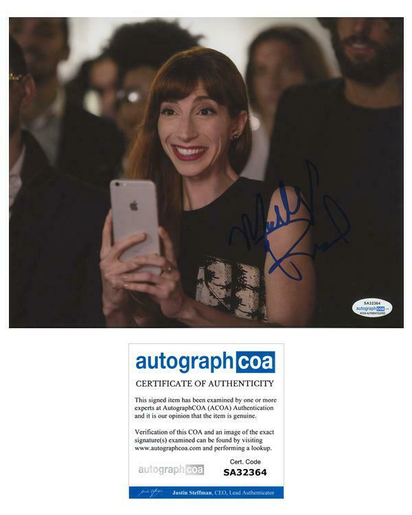 "Molly Bernard ""Younger"" AUTOGRAPH Signed 'Lauren Heller' 8x10 Photo C ACOA"