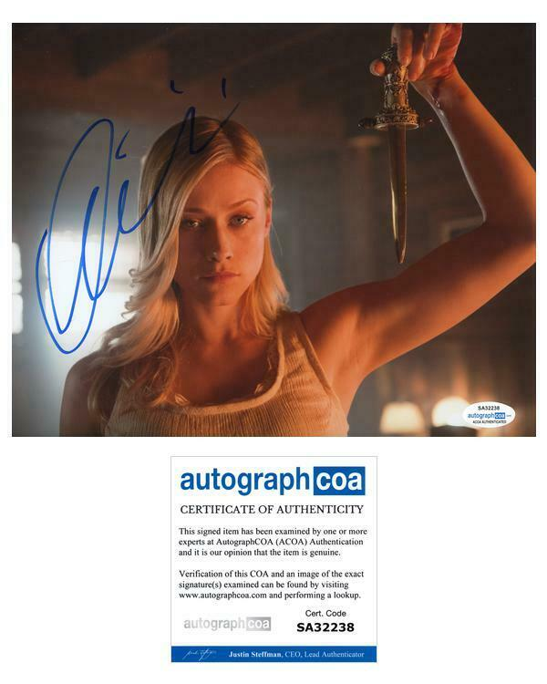 """Olivia Taylor Dudley """"The Magicians"""" AUTOGRAPH Signed"""
