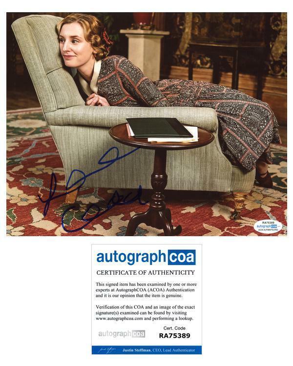 "Laura Carmichael ""Downton Abbey"" AUTOGRAPH Signed 8x10 Photo O ACOA"