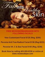 Free Microdermabrasion with Facial