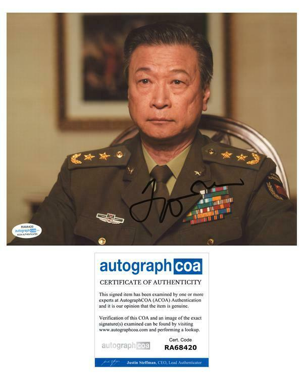 "Tzi Ma ""Arrival"" AUTOGRAPH Signed 8x10 Photo ACOA"
