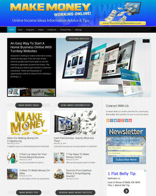 Make Money Online Website