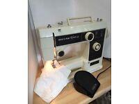 Riccar sewing machine working