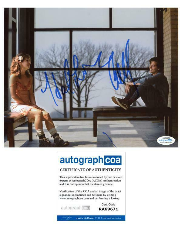 "Cole Sprouse & Haley Lu Richardson ""Five Feet Apart"" AUTOGRAPH Signed 8x10 Photo"
