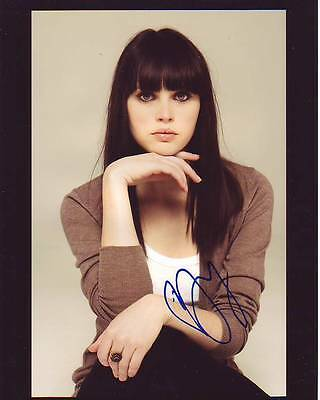 Felicity Jones Signed Autographed 8X10 Photograph    Star Wars Rogue One Jyn