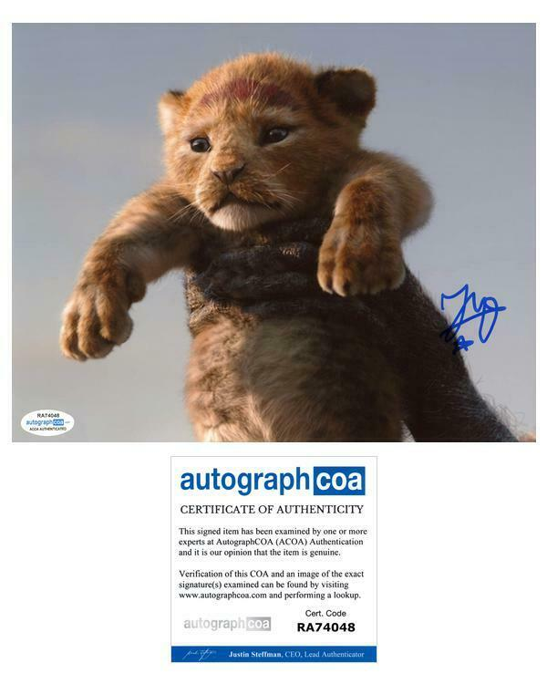 "JD McCrary ""The Lion King"" AUTOGRAPH Signed Simba 8x10 Photo ACOA"