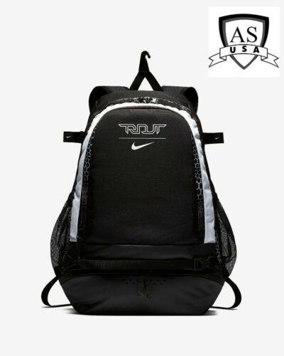 Nike Trout Vapor Baseball Bat Backpack W/ Laptop Sleeve BA5436 011 Black White