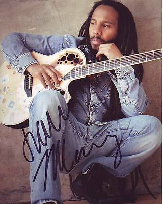 ZIGGY MARLEY Signed Photo w/ Hologram COA