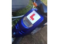 Piaggio typhoon 70cc reg as 50cc