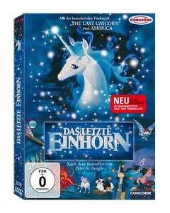 DAS LETZTE EINHORN The Last Unicorn REMASTERED KLASSIKER DVD Neu