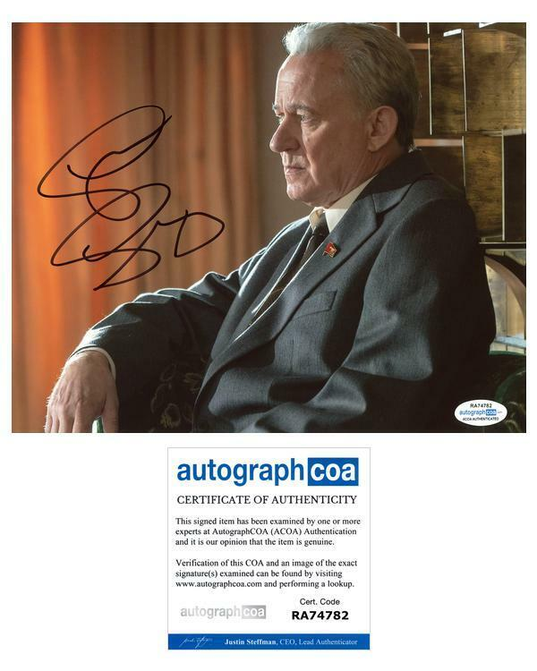 "Stellan Skarsgard ""Chernobyl"" AUTOGRAPH Signed 8x10 Photo C ACOA"