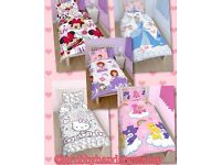 Children's character towels and bedding