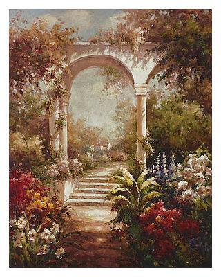 James Reed Fiorenzas Garden Poster Kunstdruck Bild 76x61cm