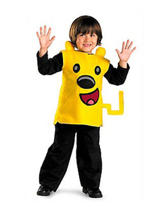 WoW WoW Wubbzy Boys or Girls Yellow Halloween Costume Size 2T NIP - Wubbzy Costume