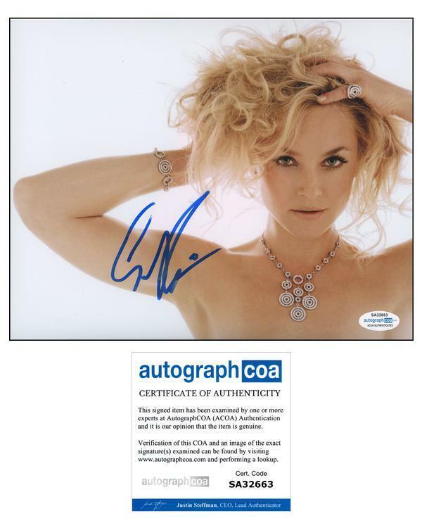 "Elisabeth Rohm ""Law & Order"" AUTOGRAPH Signed 8x10 Photo ACOA"