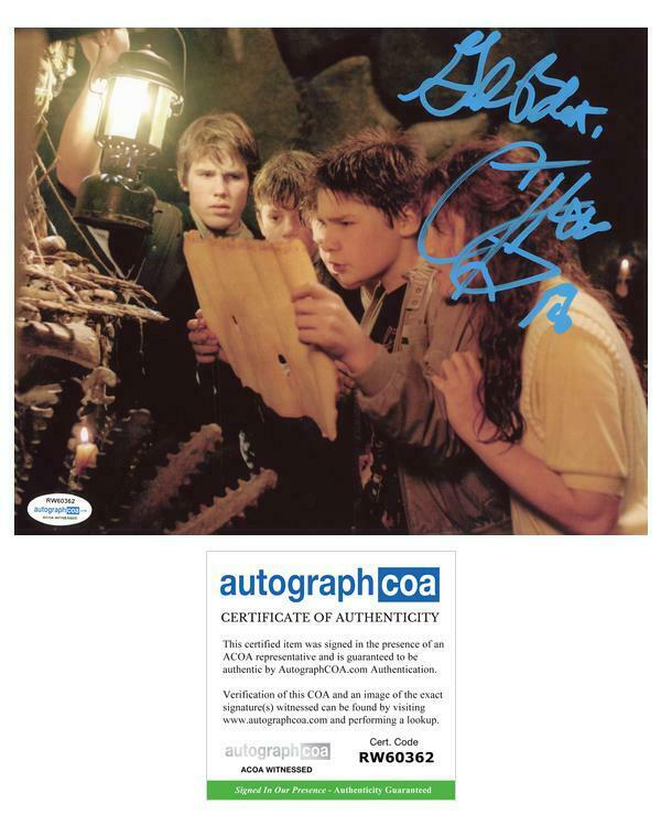 "Corey Feldman ""The Goonies"" AUTOGRAPH Signed 'Mouth' 8x10 Photo ACOA Witness ITP"