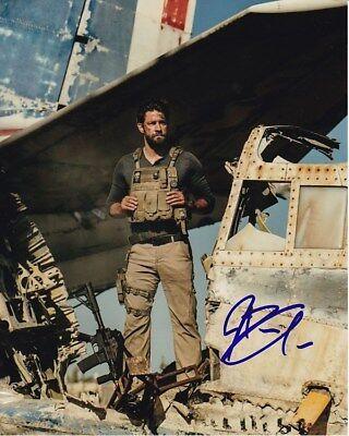 John Krasinski Signed Autographed 8X10 13 Hours Jack Silva Photograph