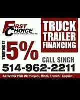 FINANCING AVAILABLE FOR ALL NEW USED TRUCKS, TRAILERS AND MORE!!