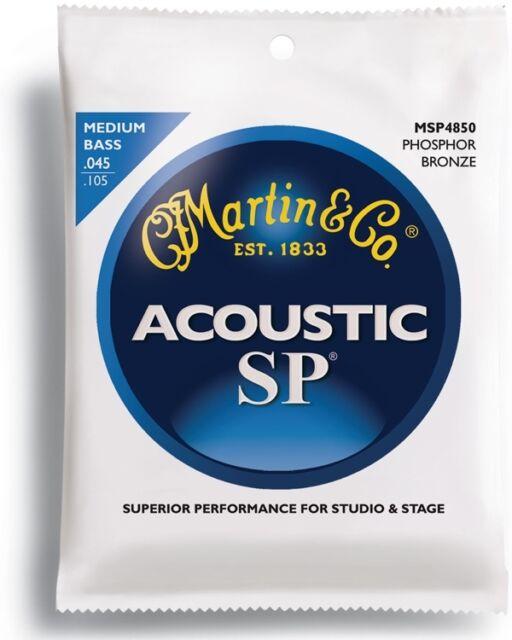 MARTIN ACOUSTIC BASS STRINGS - MEDIUM (MSP4850)