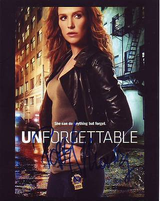 Poppy Montgomery Signed Unforgettable Photo W  Hologram Coa