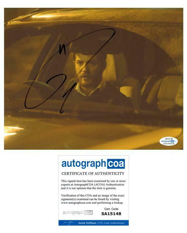 "Tom Hardy ""Locke"" AUTOGRAPH Signed 'Ivan Locke' 8x10 Photo ACOA"