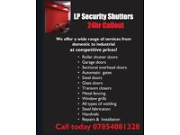 Garage door and all types of roller shutter doors including security looks