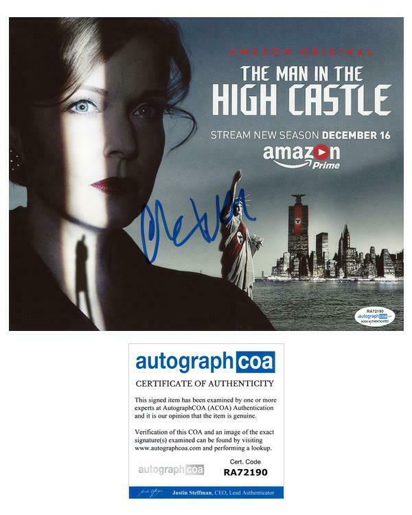 "Chelah Horsdal ""The Man in the High Castle"" AUTOGRAPH Signed 8x10 Photo ACOA"