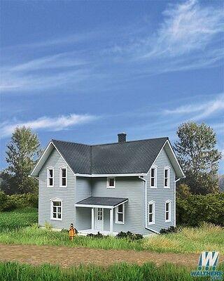 3789 Walthers Cornerstone Tillman Farm House HO Scale