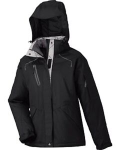 North End Sport ADVENTURE Ladies Sherpa Fleece Lined Seam Jacket