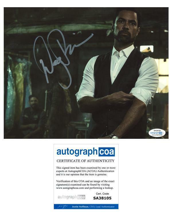 "Danny Pino ""Mayans M.C."" AUTOGRAPH Signed 'Miguel Galindo' 8x10 Photo ACOA"