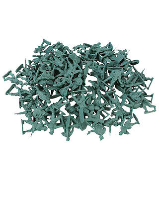 KIDS PLASTIC TOY SOLDIERS PLAY MILITARY ARMY WARGAMES BAG OF 108 4-5cm