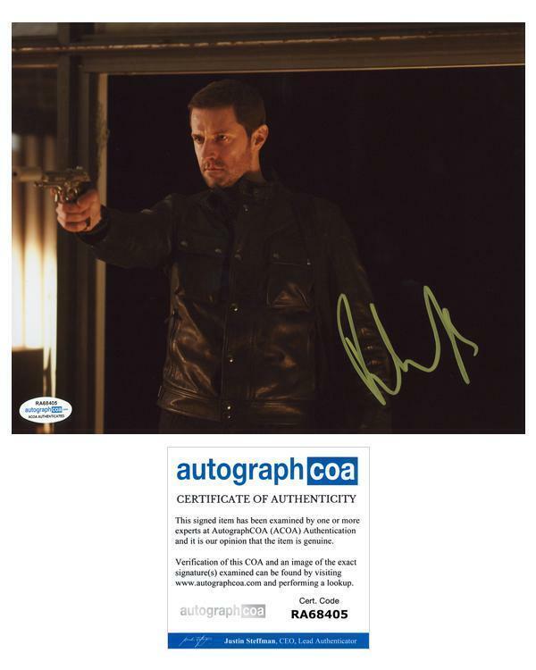 "Richard Armitage ""Hannibal"" AUTOGRAPH Signed 8x10 Photo ACOA"