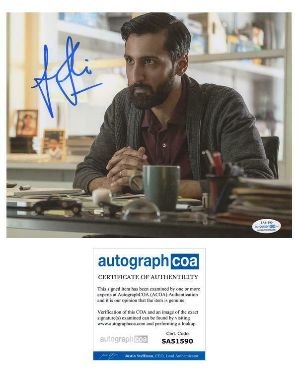 """Arsher Ali """"Doctor Who"""" AUTOGRAPH Signed 'Bennett' 8x10 Photo B ACOA"""