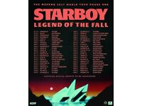 4 X The Weekend **Starboy tour tickets** for sale  Hampshire