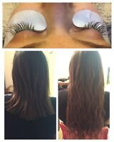 THANKSGIVING SPECIAL! Hair and eyelash extensions