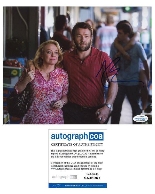 "Joel Edgerton ""Animal Kingdom"" AUTOGRAPH Signed 'Baz Brown' 8x10 Photo ACOA"