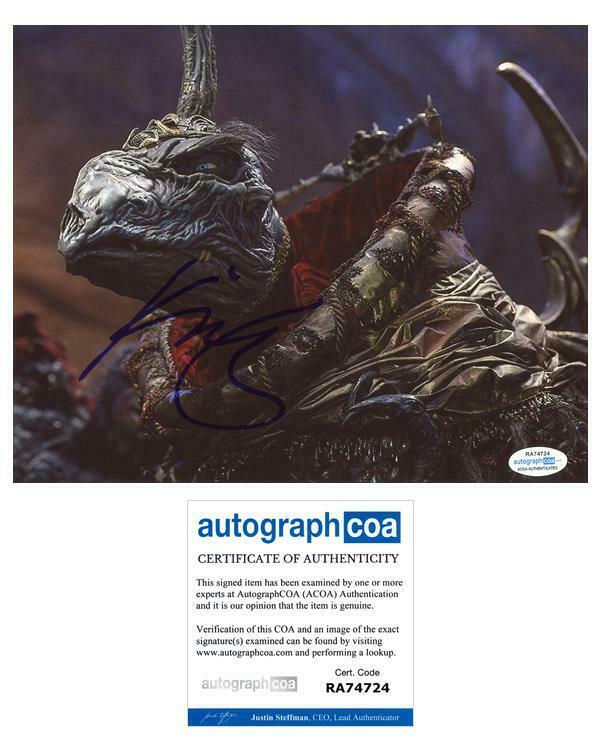 "Keegan-Michael Key ""The Dark Crystal: Age of Resistance"" SIGNED 8x10 Photo ACOA"
