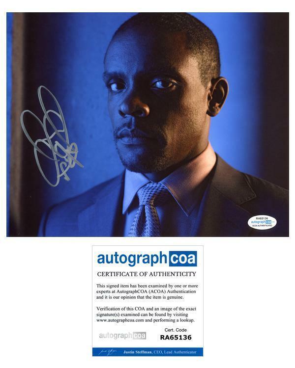"Chris Chalk ""Gotham"" AUTOGRAPH Signed 8x10 Photo B ACOA"