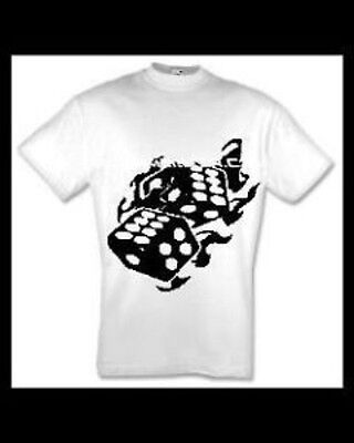 brennende Würfel T-Shirt Sweatshirt Kapu Hoodie S bis 6XL oldschool tattoo motiv